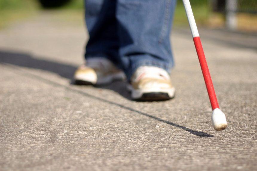 Get the support you need growing up blind or partially sighted